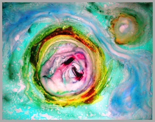 """""""Galaxia Espiral Comarco de Acer"""", de Mercurio María, España"""