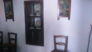 Detalle del interior de la casa museo