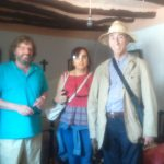 José Elgarresta, Javier Arnaiz y Teresa Ramos