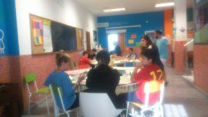 Alumnos del Centro de Día Albaysos