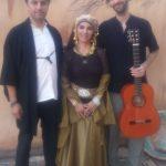 Kamal Al-Nawawi (música andalusí), Aida de la Fuente (Danza andalusí) y Pepe Agudo (guitarra con arte flamenco total)