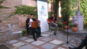 Kamal Al-Nawawi y Pepe Agudo (dos maestros)
