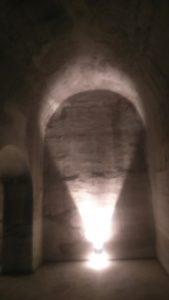 Interior del Aljibe del Rey