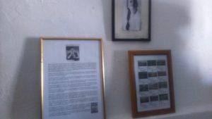 Cuadros que recogen la imagen, vida y obra de Isabel Roldán García