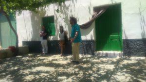 Javier Arnáiz recitando