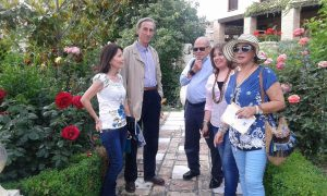 María Jesús Mingot, José Elgarresta,  Carlos Guerrero Gallego, Mara Romero Torres y Joaquina Cañadas Blanca