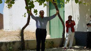 Ricardo del Pino Morales, de Málaga, desbordando arte por los cuatro costados.