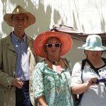 Con José Elgarresta, Joaquina Joaki Cañadas Blanca y mi teléfono que me decía que se quedaba sin batería.